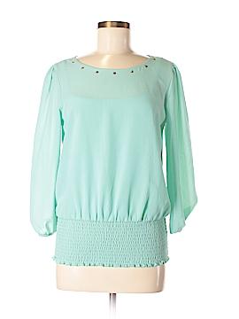 B.wear 3/4 Sleeve Blouse Size M