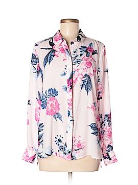 CeCe Long Sleeve Blouse Size M