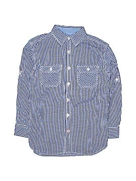 Weatherproof Long Sleeve Button-Down Shirt Size 10