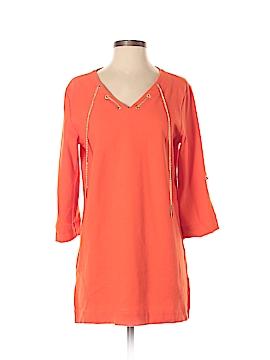 Joan Vass 3/4 Sleeve Top Size 4 (0)