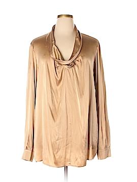 Marina Rinaldi Long Sleeve Blouse Size 20 (29) (Plus)