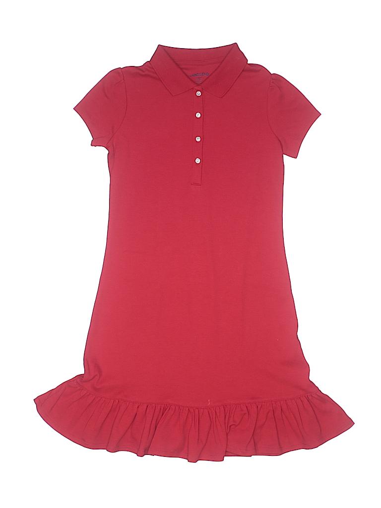 Lands' End Girls Dress Size 7