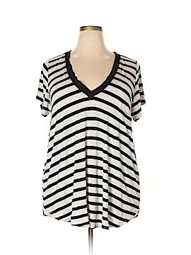 H by Bordeaux Short Sleeve T-Shirt Size 3X (Plus)