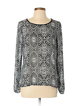 Eyelash Couture Long Sleeve Blouse Size L