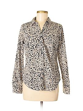 Dana Buchman Long Sleeve Button-Down Shirt Size M