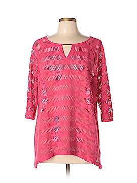 Dana Buchman 3/4 Sleeve Top Size XL
