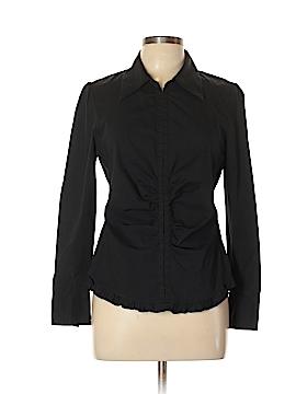 BCBGMAXAZRIA Long Sleeve Button-Down Shirt Size L