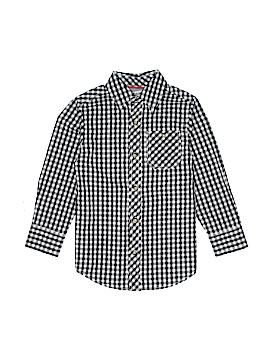 Arizona Jean Company Long Sleeve Button-Down Shirt Size 6