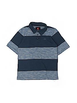 Quiksilver Short Sleeve Polo Size 7
