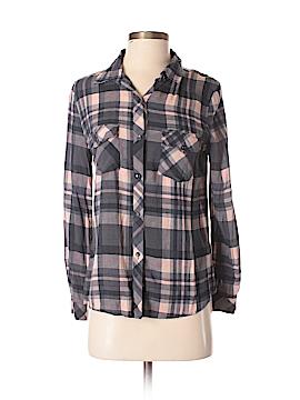 Tea n Rose Long Sleeve Button-Down Shirt Size S