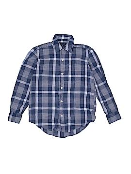Gap Kids Long Sleeve Button-Down Shirt Size 8