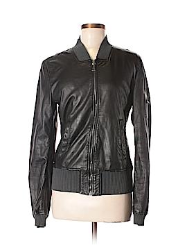 Dolce & Gabbana Leather Jacket Size 46 (IT)
