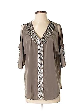 Metro Style Short Sleeve Blouse Size S