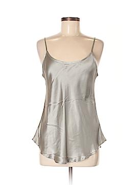 HEATHER Sleeveless Silk Top Size M