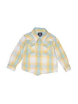 Lucky Brand Long Sleeve Button-Down Shirt Size 3