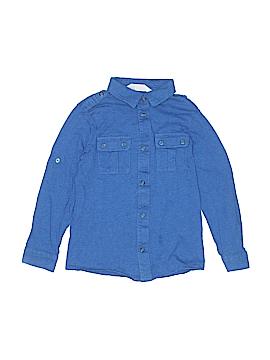 H&M Long Sleeve Button-Down Shirt Size 4 - 6
