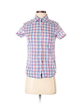Wrangler Jeans Co Short Sleeve Button-Down Shirt Size XS