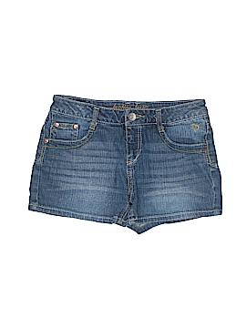 Justice Jeans Denim Shorts Size 14