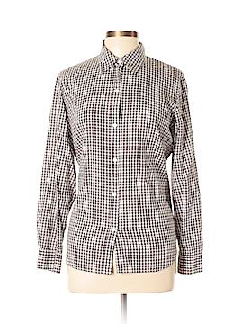 Liz Claiborne Collection Long Sleeve Button-Down Shirt Size L