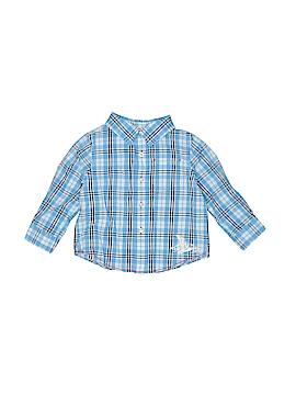 L.L.Bean Long Sleeve Button-Down Shirt Size 12-18 mo