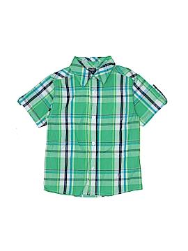 U.S. Polo Assn. Short Sleeve Button-Down Shirt Size 6