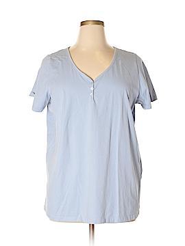 Roaman's Short Sleeve Henley Size 20 - 18 (Plus)