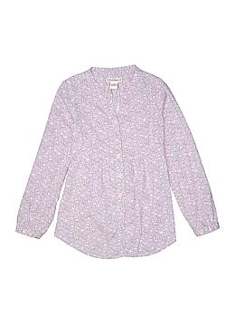 Ruff Hewn Long Sleeve Button-Down Shirt Size 8