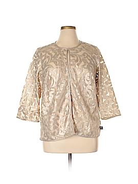JM Collection Blazer Size 1X (Plus)