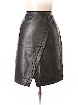 Halogen Faux Leather Skirt Size 12 (Petite)