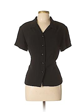 Norton McNaughton Short Sleeve Blouse Size L