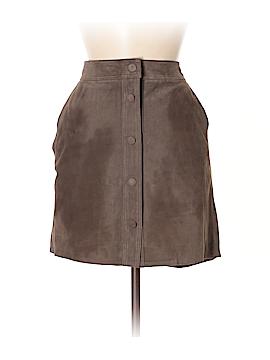 Tyler Boe Leather Skirt Size 8