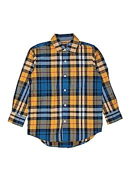 Gap Kids Long Sleeve Button-Down Shirt Size 6 - 7