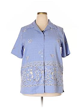 Premier International Short Sleeve Blouse Size 20 (Plus)