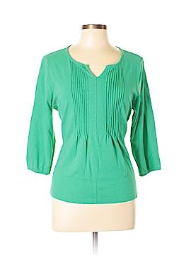 Caribbean Joe 3/4 Sleeve Top Size XL