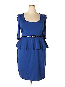 City Chic Casual Dress Size 16 Plus (S) (Plus)
