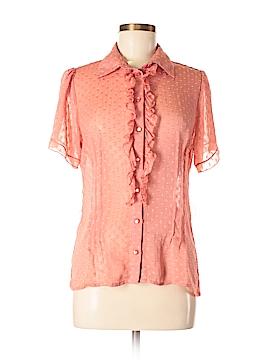 Verve Short Sleeve Blouse Size M