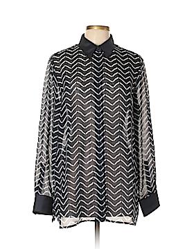 Armani Collezioni Long Sleeve Blouse Size 46 (IT)