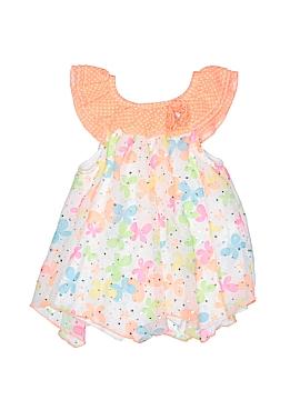 Little Lass Short Sleeve Blouse Size 5T