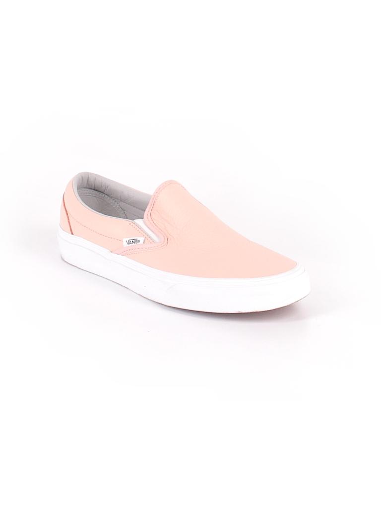 c4ffec065646 Vans Solid Light Pink Flats Size 10 - 50% off