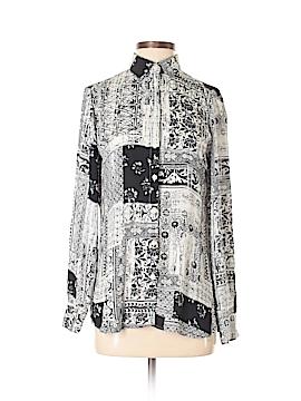 Van Heusen Long Sleeve Button-Down Shirt Size XS