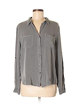 Rock & Republic Long Sleeve Button-Down Shirt Size L
