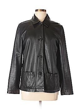 Gap Leather Jacket Size M