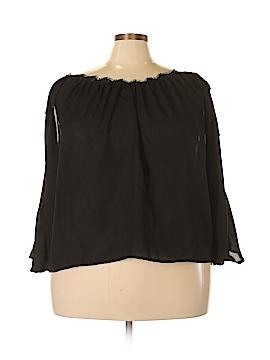 FASHION TO FIGURE Long Sleeve Blouse Size 2X Plus (2) (Plus)