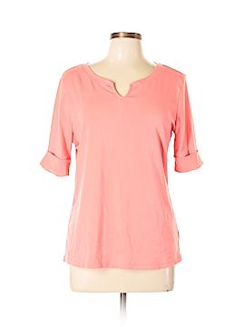 Ellen Tracy Short Sleeve Top Size L