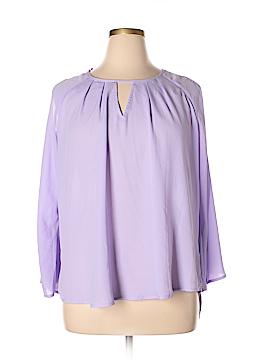Seven7 3/4 Sleeve Blouse Size 1X (Plus)