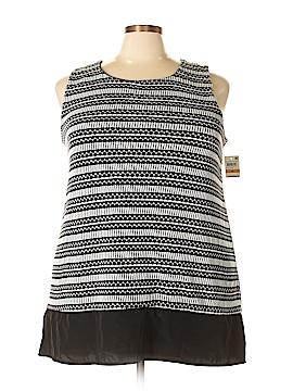 Alfani Sleeveless Blouse Size 3X (Plus)