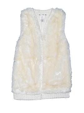 Max Studio Faux Fur Vest Size S (Kids)