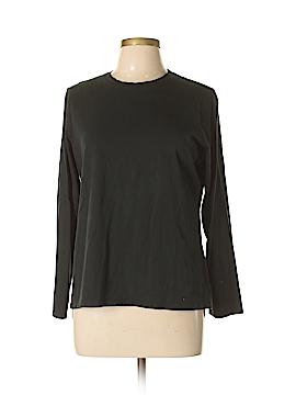 Eddie Bauer Long Sleeve T-Shirt Size L (Petite)