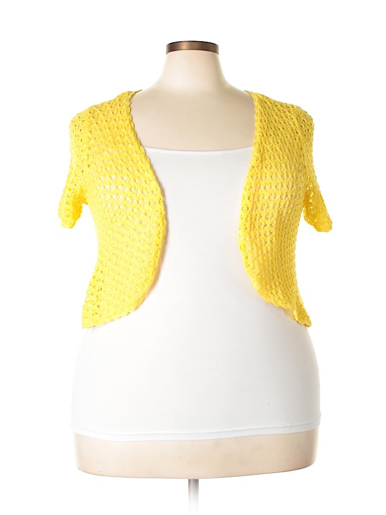 DressBarn Women Cardigan Size 18 (Plus)