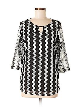 Southern Lady 3/4 Sleeve Blouse Size S